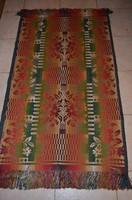 Két oldalán használható rojtos paraszt szőnyeg ( 2 db )