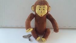 Antik felhúzós majom