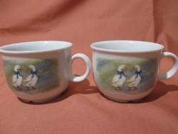 2 db libás Bavaria teás csésze