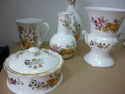 Angol porcelán készlet