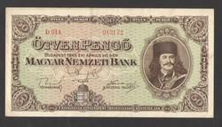 50 pengő 1945.  GYÖNYÖRŰ!!