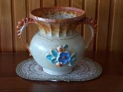 Nagyon régi, rendkívül ritka, kézzel festett vázapár