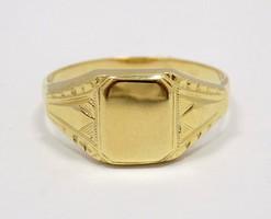 Arany pecsétgyűrű (ZAL-Au70838)