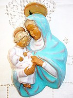 Szécsi Jolán, Madonna a gyermek Jézussal (fali dísz)