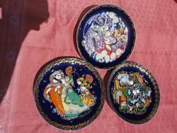 3 Rosenthal fali tányér Sindbad