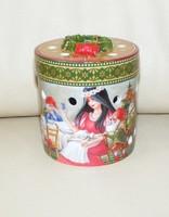 Villeroy & Boch hófehérkés porcelán mécsestartó