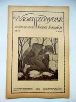 1917  /  NAGYASSZONYUNK  /  RÉGI EREDETI ÚJSÁG Ssz.: 480