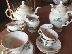 KPM porcelán 3 teás, 4 kávés készlet