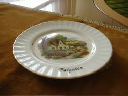 Angol gyönyörű mintájú tányér. Bone China Made in England