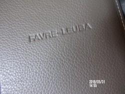 Svájci Favre-Leuba óra bőr filofax