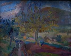 """Ezüst György ( 1935- ) """" Ősz """""""