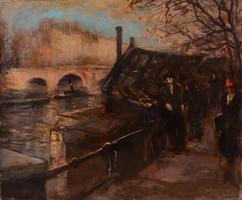 SZÁNTÓ LAJOS (1890 - 1965): Párizs