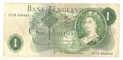 1 pound, font 1970-77 Anglia Signo J.B. Page