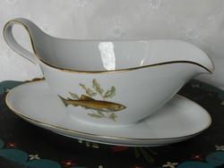 Halas Eschenbach porcelán szószos kiöntő, háború előtti időszakból