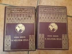 Sven Redin: A selyem útja I-II. A Magyar Földrajzi Társaság Könyvtára kiadványa