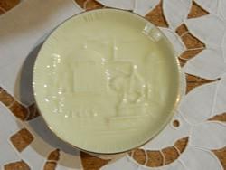Zsolnay Pécs porcelán tányérka
