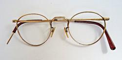 1920 körüli aranyozott szemüvegkeret