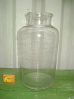 Régi hat literes befőttes üveg