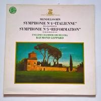 """English Chamber Orchestra - Symphonie N°4 """"Italienne"""" Symphonie N°5 """"Reformation"""" - Raymond Leppard"""