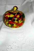Muránoi üveg  doboz-bonbonier