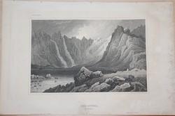 Acélmetszet: Lyn - Jdwal  (1800-as évek)