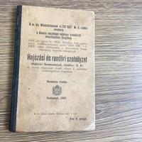 Hajózási és rendőri szabályzat 1927.