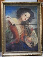 Szánthó Mária (1897-1998) - Cigánylány