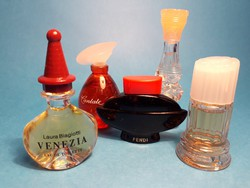 Gyűjtői Mini parfüm válogatás 5 db