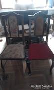 Neobarokk székek eladók