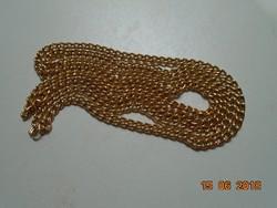 Aranyozott nyaklánc-78 cm