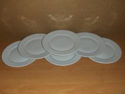 Ritka Alföldi porcelán kistányér készlet 6 db (ap)