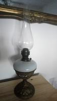 Üvegbetétes petróleum lámpa 52cm
