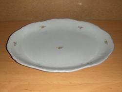 Zsolnay porcelán kínáló (ap)