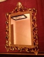 Faragott Florentin keretes tükör.