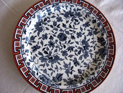 XIX. századi gyémántjeles MINTON tányér, muzeális darab