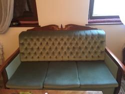 Neobarokk kanapé (kinyitható)