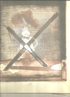 Egy filozófus portréja. Almássy Aladár grafikusművész alkotása. 1972.