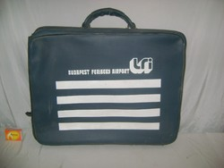 "MALÉV bőrönd "" Budapest Ferihegy Airport """