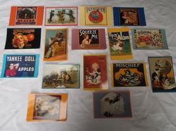 Amerikai - új - 1991 ben nyomott - Vintage szabvány méret tiszta feladható képeslapok
