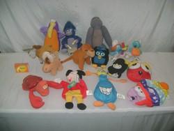 RETRO McDonald's-os játékok, figurák - tizenöt darab