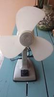 Retro asztali ventillátor, műhely ventillátor