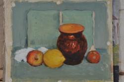 Ismeretlen művész, tanulmányok, 1920 k.