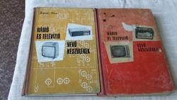 Kádár Géza Rádió és televízió vevőékészülékek 2 kötet eladó!