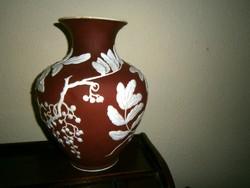 PÁTÉ-SUR PATETE nagy méretű szecessziós  váza  alakú lámpatest Rosenthal vázából kialakítva