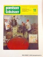 1978 március 16  /  KERTÉSZET és SZŐLÉSZET  /  SZÜLETÉSNAPRA RÉGI EREDETI ÚJSÁG Szs.:  6109