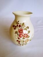 Zsolnay Apró virág mintás közepes váza