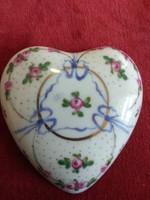 Francia Josephine porcelán gyűrűtartó
