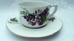 Régi teás csésze + alátét