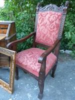 Reneszánsz stil trón,  szék.