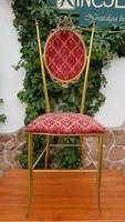 Réz dísz szék